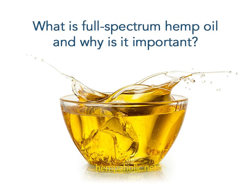 Full Spectrum Hemp Oil | What Is Full Spectrum Hemp Oil?