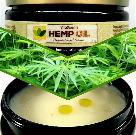 HEMP OIL FOR FACE WRINKLES